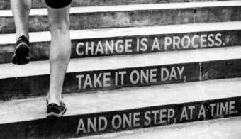 small steps for positive change